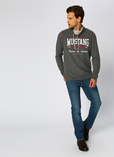 Mustang Sweatshirt Füme
